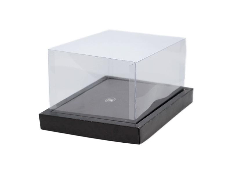 Caixa para Ovo de Colher 500g - Moldura Tresse Preto - Cromus