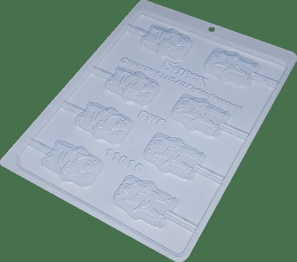 Forma de Acetato Pirulito Shrek N11016– Bwb