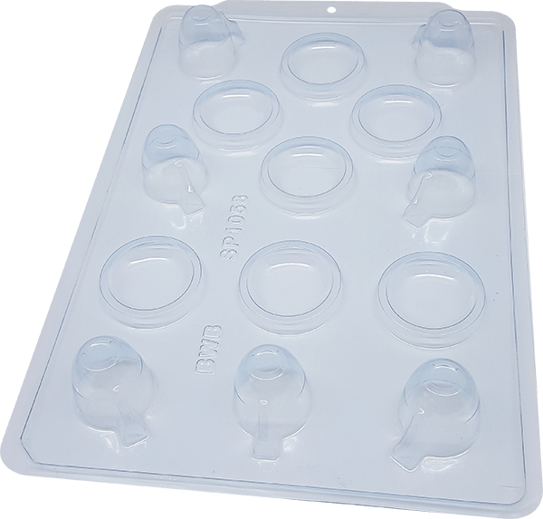 Forma prática Trufa xícara SP1058- BWB