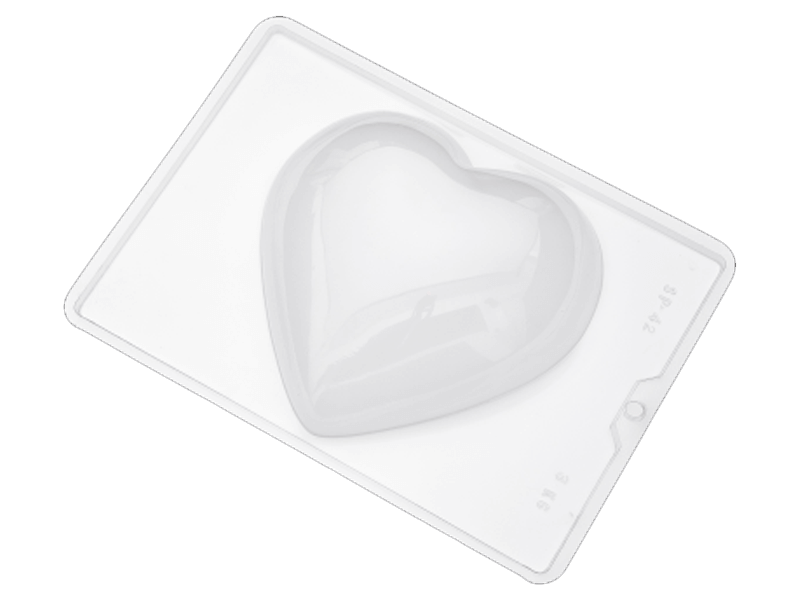 Forma de Acetato Semi Profissional Coração 3kg SP42 - Nishimoto