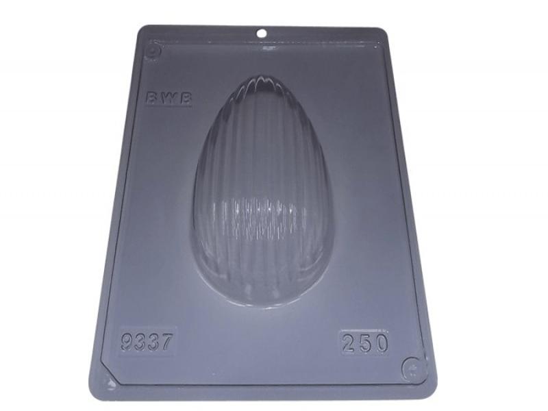Forma Prática com Silicone para Ovo Textura Ondas 250g N9337 – BWB
