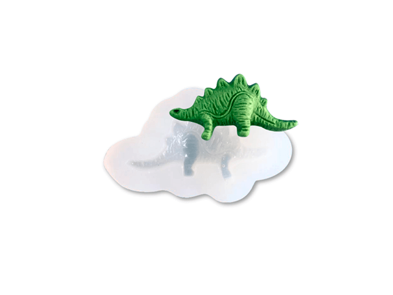 Molde de Silicone Dinossauro Mzl