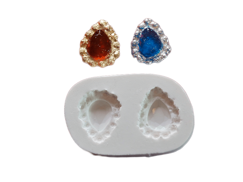 Molde de Silicone Jóias S1991 - Gummies