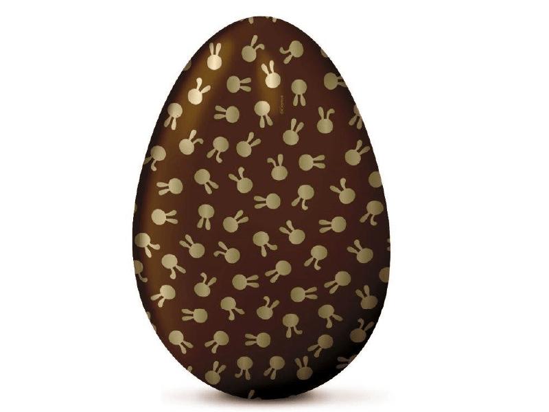 Papel Chumbo Coelhinhos Marrom 8x7,8 cm c/ 300 Folhas - Cromus