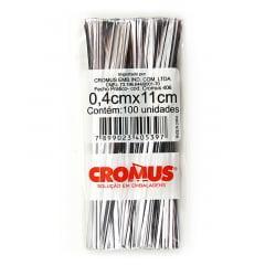 Fecho Prático Prata C/100 - Cromus