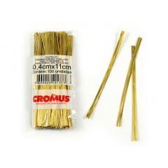 Fecho Prático Ouro C/100 - Cromus