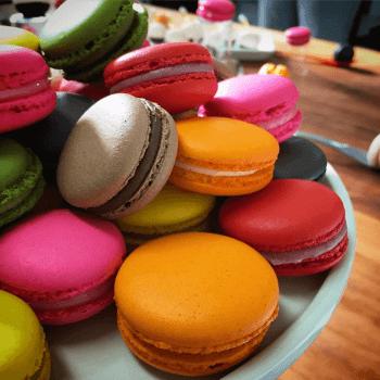 Curso Macarons 02/04/2020 13h30 às 17h30