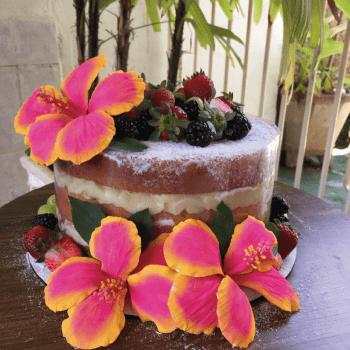 Curso Prático de Flores de Açúcar 24/03/20 09h00 às 13h00