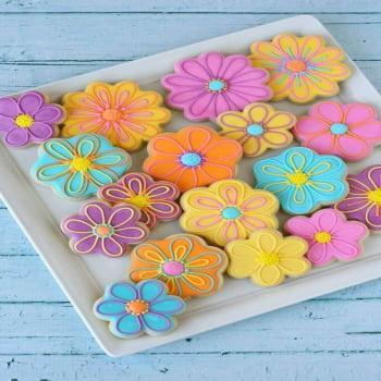 Curso Prático de Biscoitos Decorados 14/04/20 09h00 às 17h00