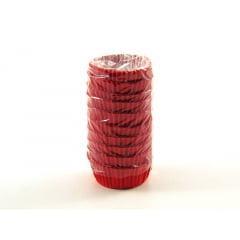 Forminha de Papel Fantasia N2 Vermelha c/100 Vipel