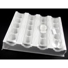 Modelador Plástico Coxinha e Risoli c/20 Gazoni