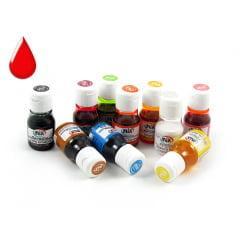 Anilina Liquida Vermelha 10ml Mix