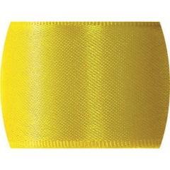 Fita de Cetim Lisa n°1 Amarelo Gema – CF763 – Progresso