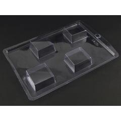 Forma de Acetato Quadrado  4x4 N8125 Nishimoto