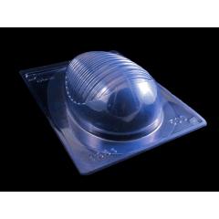 Forma Prática com Silicone para Ovo 500g Arredondado N1331 Bwb