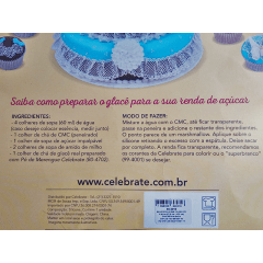 Tapete de Silicone para Renda de Açúcar – Delicada 98-2020 – Celebrate