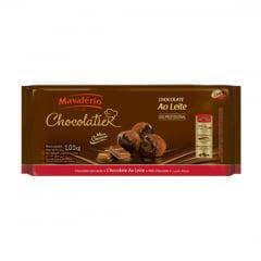 Chocolate Mavalério Chocolatier ao Leite 1kg