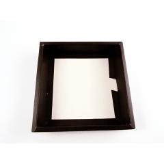 Caixa para Bombom Garbo c/ Luva Ouro 17,5x17,5x3,5 Cromus