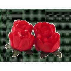 Forminha de Papel para Doces Bella 2056 Vermelho c/ 40 unidades – Decora Doces