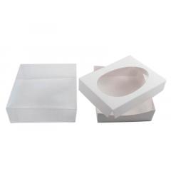 Caixa para Ovo de Colher 500g - Color Branca - Agabox