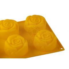 Forma de Silicone Cupcake Rosa Grande Mary Tools