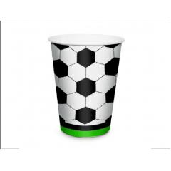 Copo Descartável Futebol 240ml c/8 unidades – Cromus
