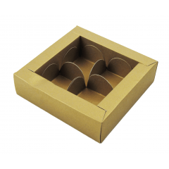 Caixa para 4 Bombons Rosângela