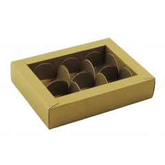 Caixa para 6 Bombons Rosângela