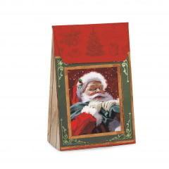 Caixa Trapézio Novos Tempos Natal 29x19x9,5 cm Cromus