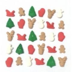 Biscuit Comestível Miniaturas Natal Jady