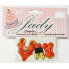 Biscuit Comestível  Kit Feminino Jady