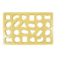 Cortador para Biscoitos Decorados Figuras Geométricas - Mary Tools