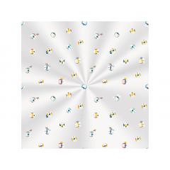 Saco Poli 10x14 cm c/100 - Os 3 Coelhinhos - Cromus