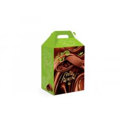 Caixa para Ovo de Páscoa Em Pé 500g - Chocolate - Cromus