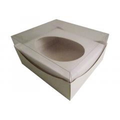 Caixa para Ovo de Páscoa de Colher Branca 500g c/10 unidades -Agabox