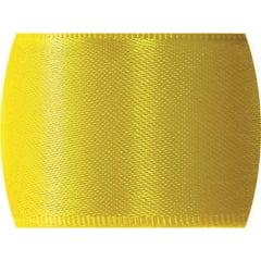Fita de Cetim Lisa n°2 Amarelo Gema – CF763 – Progresso