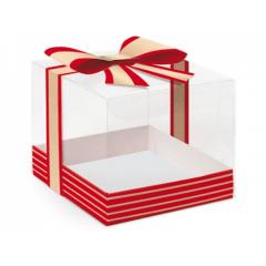 Caixa para Panetone de  500g Acetato Natal -  Cromus
