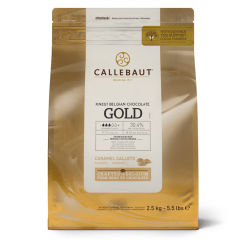 Callets Callebaut Gold Chocolate Caramelo 2,5kg