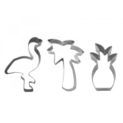 Kit Cortadores Flamingo c/3 peças – Cooktime