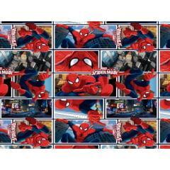Papel Metalizado para Ovo de Páscoa 69x89 cm c/5 – Spectacular Spiderman - Cromus