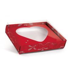 Caixa para Ovo de Colher 250g – Coração Paixão – Cromus
