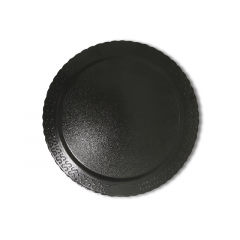 Disco Laminado para Bolos e Tortas Redondo 24cm – Preto – Ultrafest