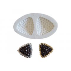 Molde de Silicone Jóia Triangular 18 S2005 – Gummies