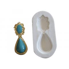 Molde de Silicone Brinco Pingente S2006 – Gummies