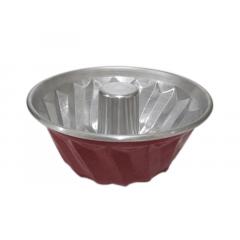 Forma para Bolo em Spiral Vermelha – Caparroz