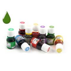 Anilina Liquida Verde Folha 10ml Mix