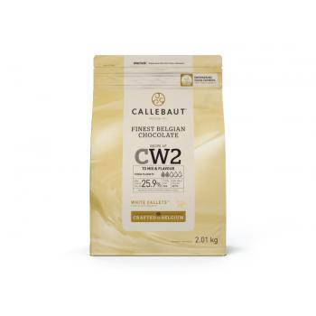 Callets Callebaut Chocolate Branco 2,01kg