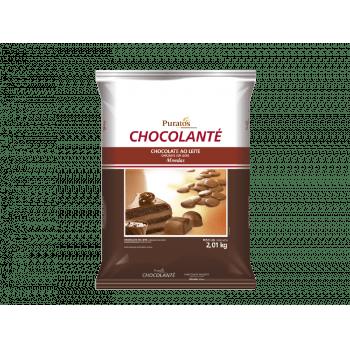 Chocolate Puratos Chocolanté Gotas Ao Leite 2,01kg