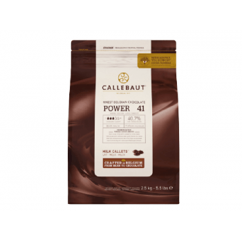 Callets Callebaut Chocolate ao Leite Power 41 (40,7%) 2,5kg
