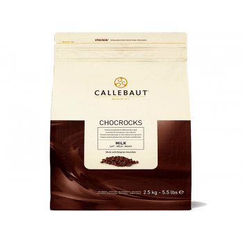 Chocolate Callebaut Chocrock ao Leite 2,5kg